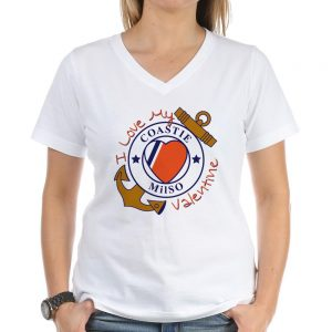 Image: Coastie Valentine T-shirt (light)