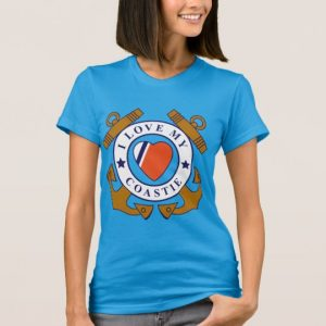 Image: Crossed Anchor Front Fine Jersey T-shirt