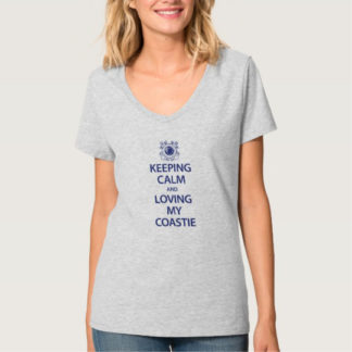 Image: I'm Calm Coastie T-shirt