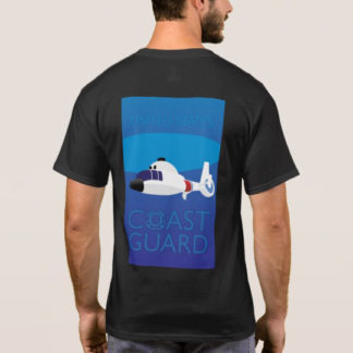Image: Art Deco Helicopter Design Tee (back)