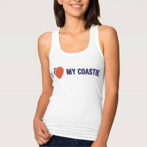 Image: Love My Coastie Tank Top (alt)