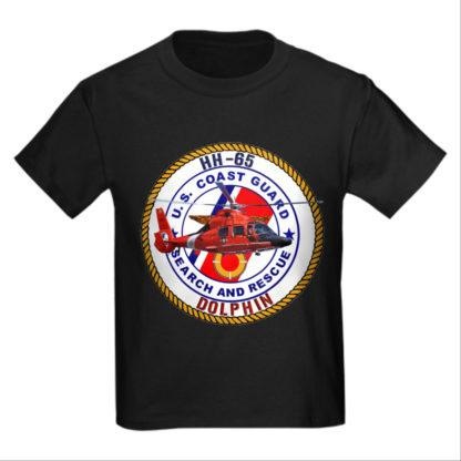 Image: HH65 Dolphin USCG SAR T-shirt