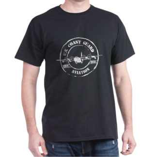 Image: USCG Aviation C-130 dark T-shirt