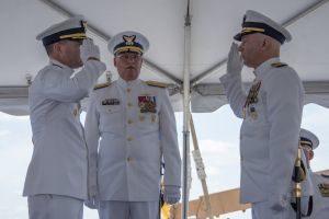 Image: USCG change-of-command ceremony