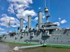 Image: Russian museum ship