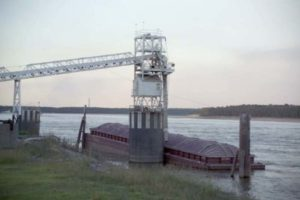 Image: Soybean barge