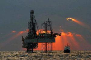 Image: oil rig